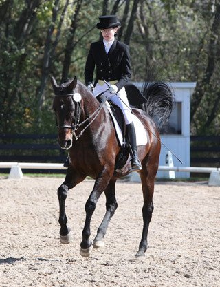 Godiva and Janna perform tempi changes during Grand Prix Test at Silverwood