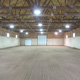 Heated indoor arena with quality footing