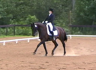 FEI Intermediate I - Extended trot on the diagonal. (2010)