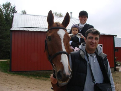 Vegas and his family! (2009)