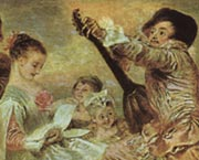 Watteau - The Music Lesson